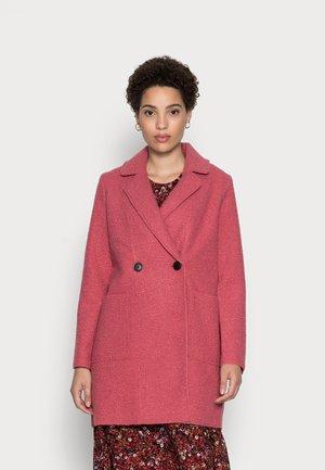 EASY BOUCLE COAT - Mantel - cozy pink
