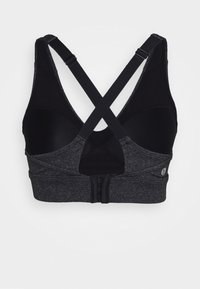 Cotton On Body - WORKOUT TRAINING CROP - Medium support sports bra - charcoal marle - 7