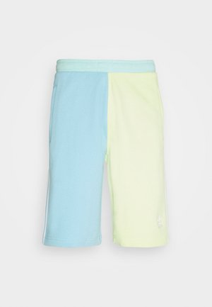 BLOCKED UNISEX - Shorts - yellow tint/hazy sky