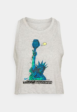 TANK NYC LIBERTY - Camiseta de deporte - grey heather