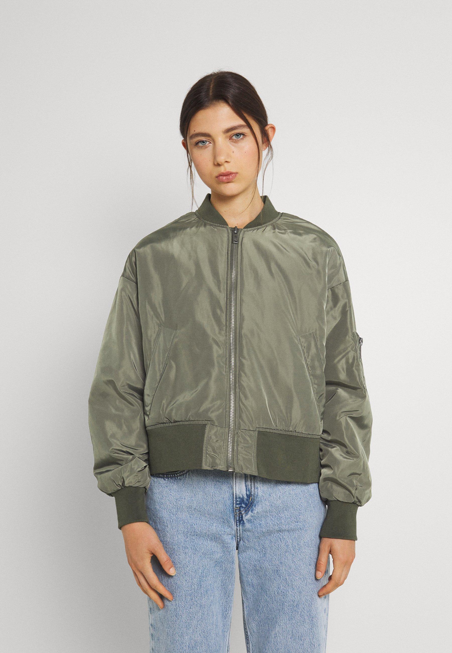 Women NMLABOMBA JACKET - Bomber Jacket - kalamata