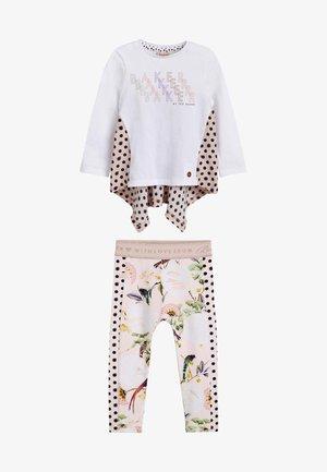 SET - Long sleeved top - multi coloured