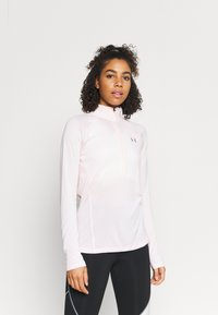 Under Armour - TECH ZIP TWIST - Sports shirt - beta tint - 0