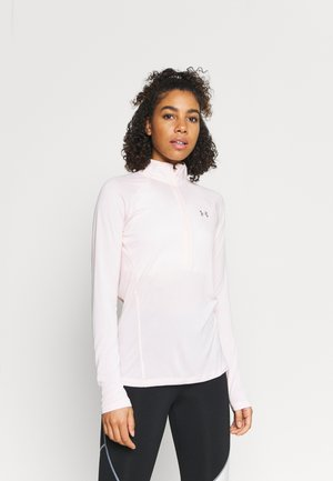 TECH ZIP TWIST - Sportshirt - beta tint