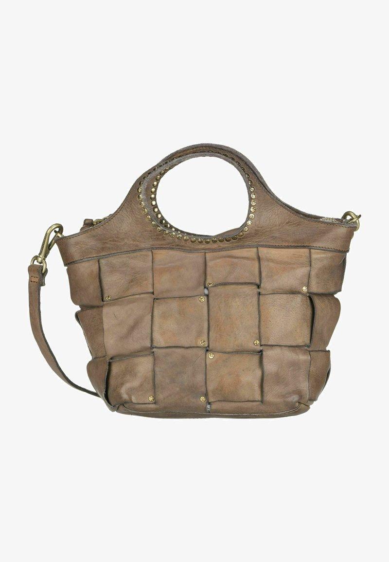 Campomaggi - Handbag - grigio perla