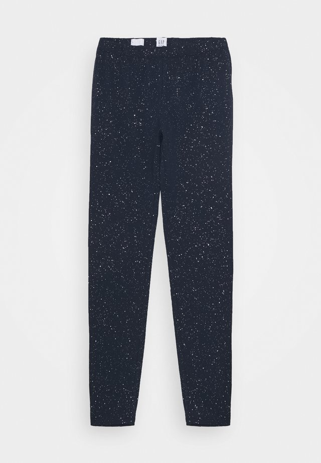 GIRLS  - Leggings - Trousers - blue galaxy