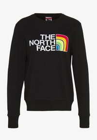 The North Face - RAINBOW CROPPED CREW - Sweatshirt - black - 4