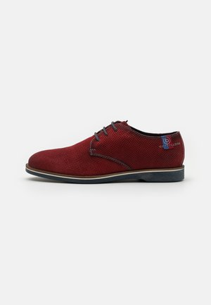 MELCHIORE - Lace-ups - red