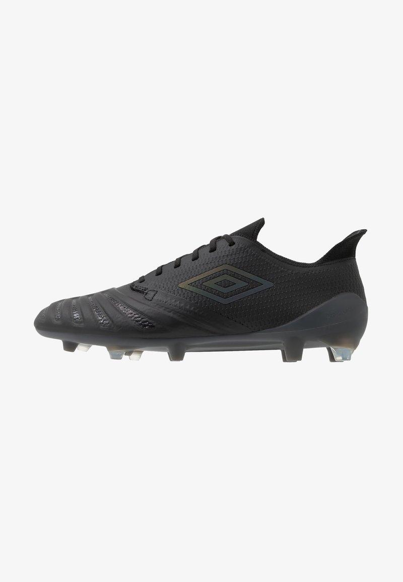 Umbro - UX ACCURO III PRO FG - Moulded stud football boots - black/black reflective