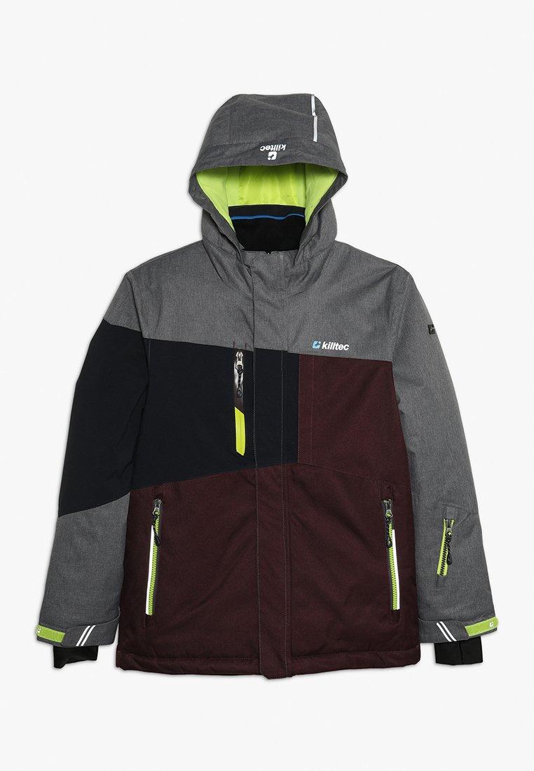 Killtec - LAURIN - Chaqueta de esquí - burgundy