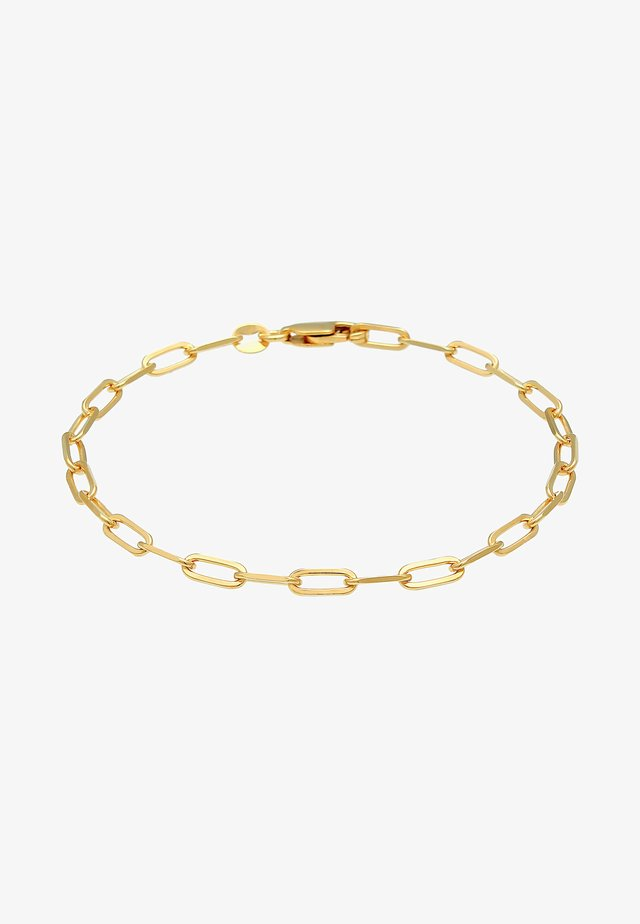 GLIEDER OVAL BASIC CHAIN OPTIK - Bracelet - gold