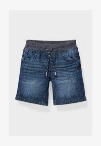 C&A - Denim shorts - denim blue - 0