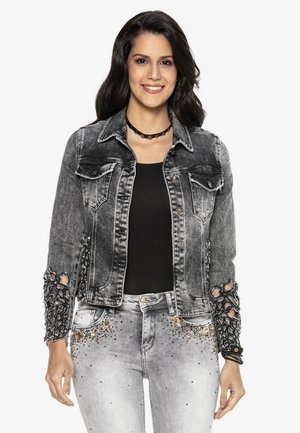 Denim jacket - anthracite