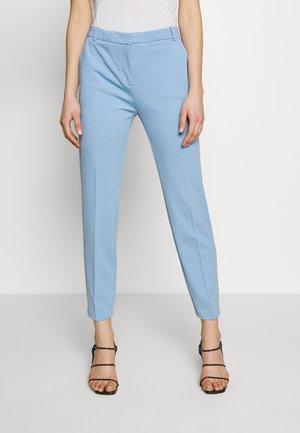 BELLO PANTALONE PUNTO STOFF - Trousers - azzurro fascino