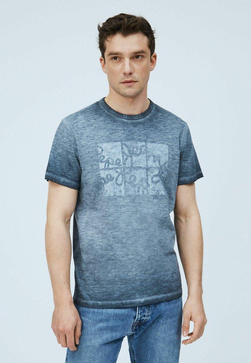 Pepe Jeans - YORAM - Print T-shirt - thames