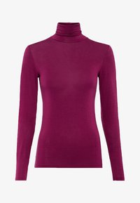 HALLHUBER - Long sleeved top - cassis - 3