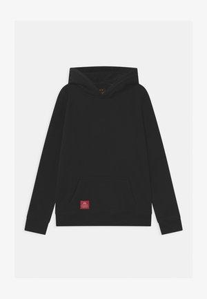 BACK PRINT HOODY - Sweatshirt - black