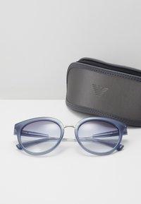 Emporio Armani - Sunglasses - blue - 3