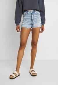 American Eagle - Denim shorts - bright - 0