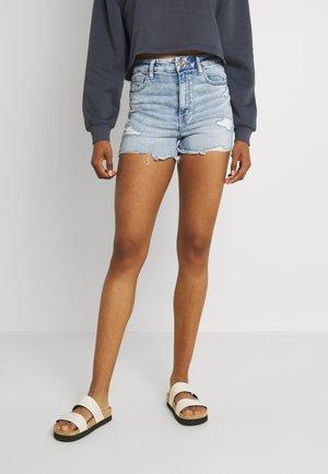 Denim shorts - bright