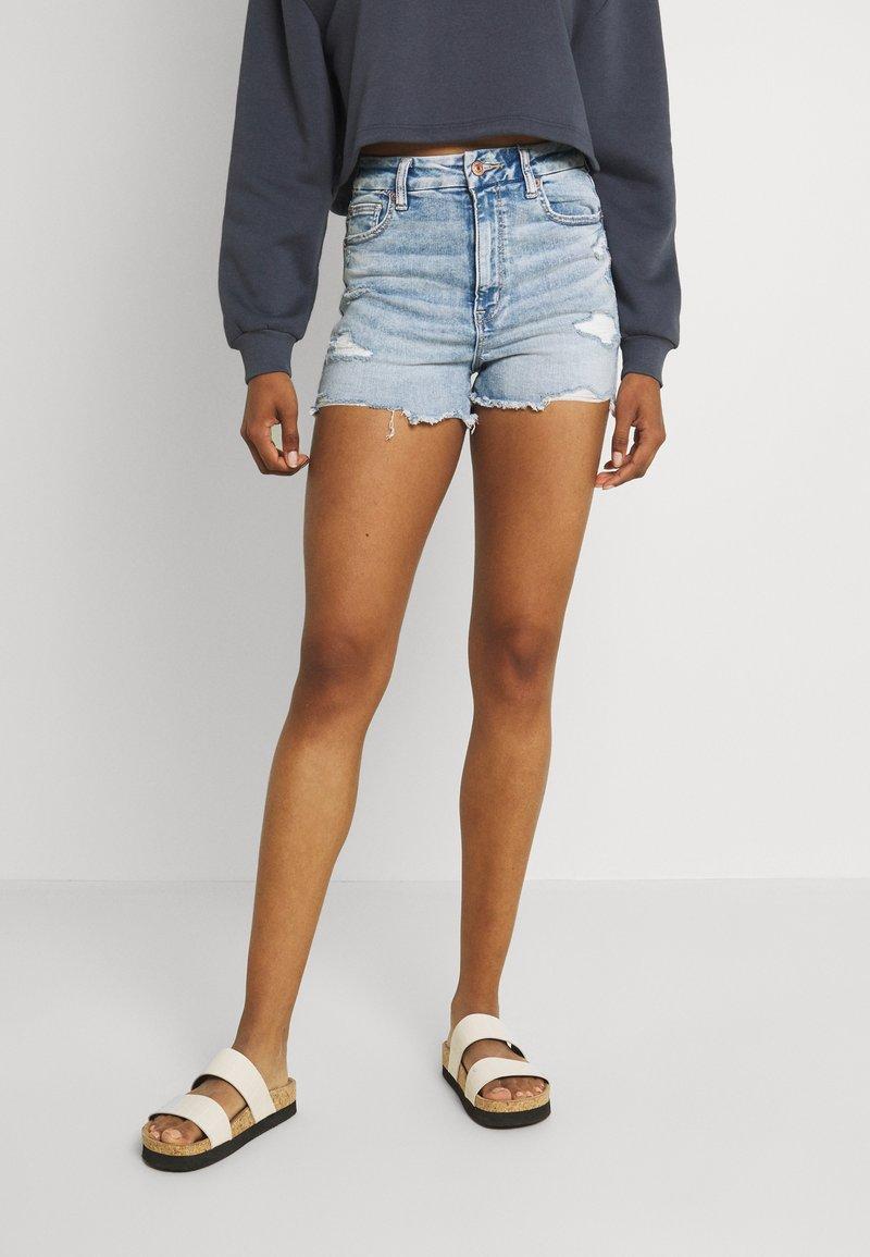 American Eagle - Denim shorts - bright
