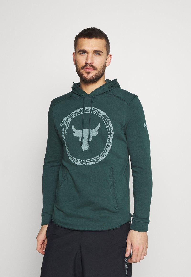 Under Armour - ROCK SNAKE  - Sweatshirt - ivy