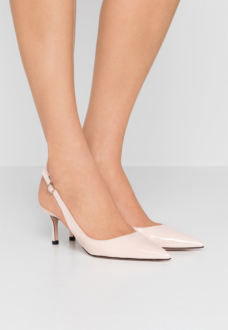 HUGO - INES SLING  - Classic heels - nude