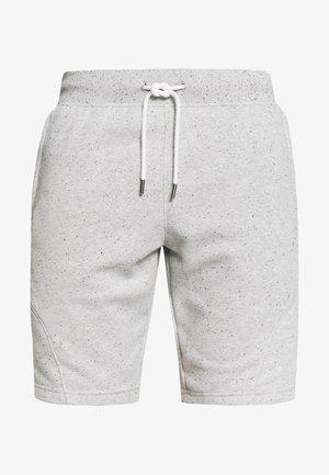 SPECKLED SHORT - Sports shorts - onyx white/black