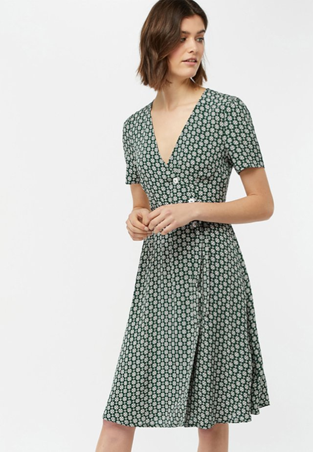 MONICA - Day dress - green