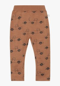Mainio - PICK UP TRUCK PANTS SLUB - Leggings - Trousers - pecan brown - 0