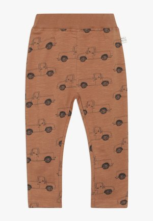 PICK UP TRUCK PANTS SLUB - Leggings - Trousers - pecan brown