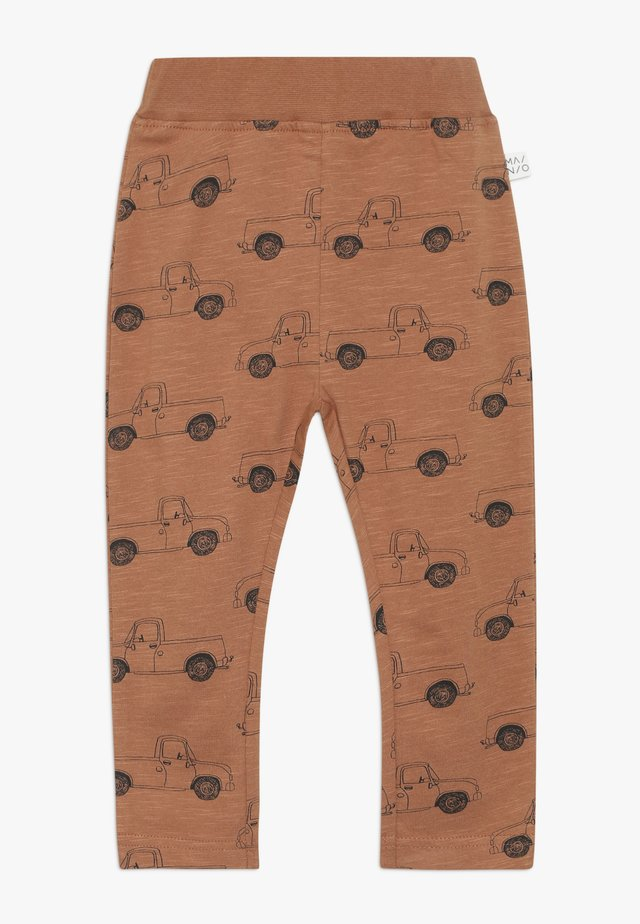 PICK UP TRUCK PANTS SLUB - Leggings - pecan brown