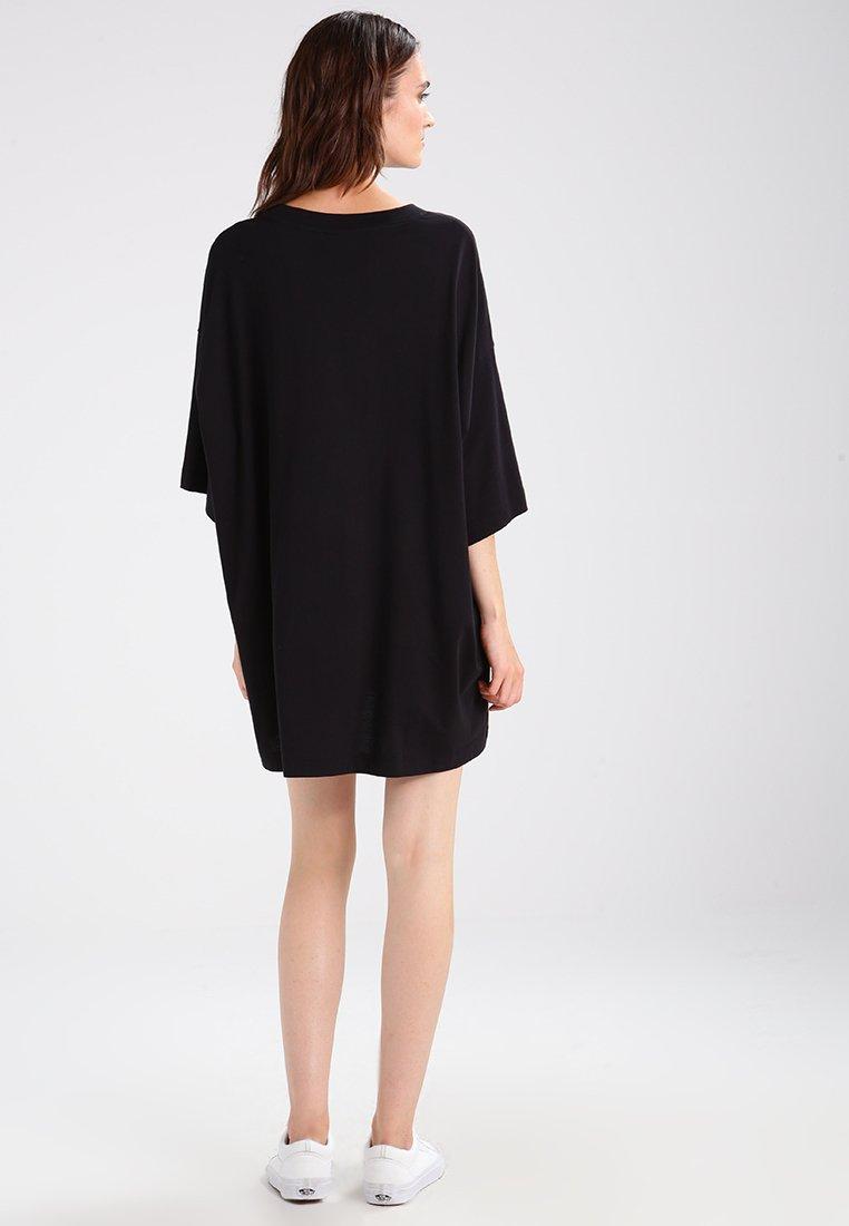 Weekday HUGE DRESS - Jerseykjole - black