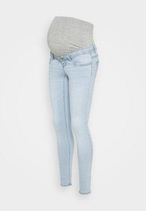 OLMWAUW LIFE - Skinny džíny - special bright blue denim