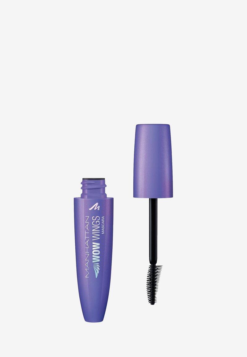 Manhattan Cosmetics - WOW WINGS MASCARA - Mascara - 1 black