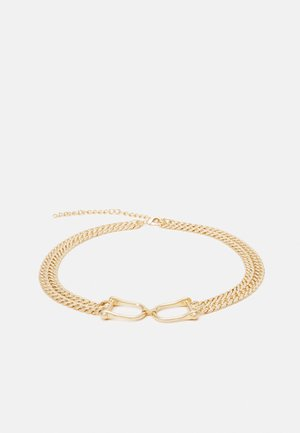 PCZEREN CHAIN WAIST - Midjebelte - gold-coloured