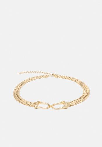 PCZEREN CHAIN WAIST - Waist belt - gold-coloured