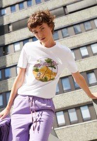 PS Paul Smith - Print T-shirt - white - 2