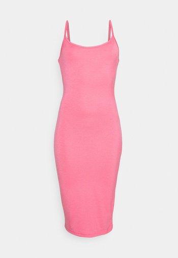 BASIC CAMI MIDI DRESS - Jersey dress - rose