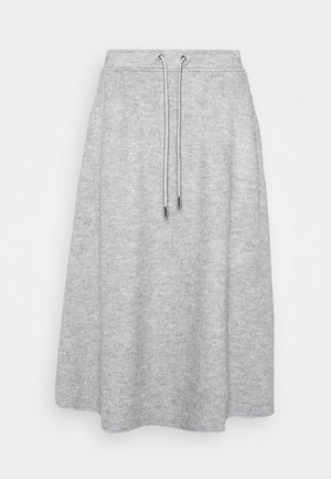 EDUCATA - Jupe trapèze - light grey