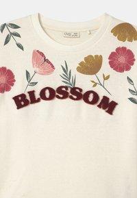 OVS - FLOWERS - Sudadera - cannoli cream - 2