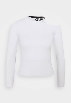 SORAYA VNECK - Jumper - true white