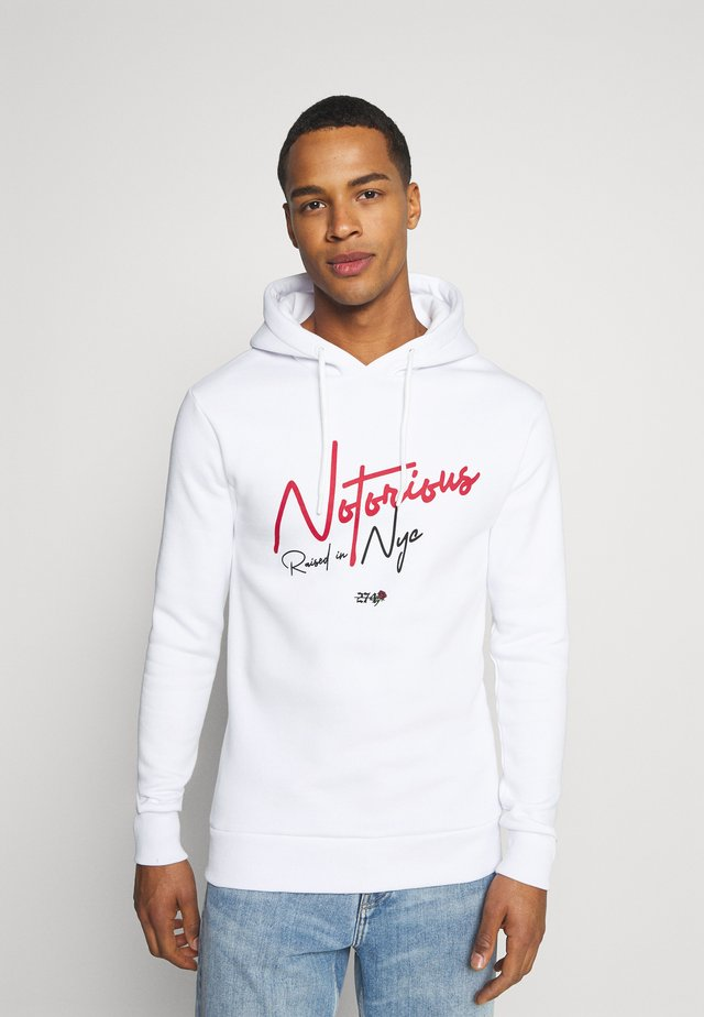 NOTORIOUS HOOD - Sweater - white