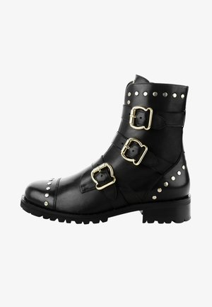 REDONA - Cowboy- / bikerstøvlette - black