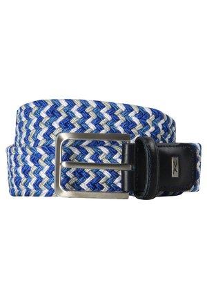 Braided belt - marine (52)
