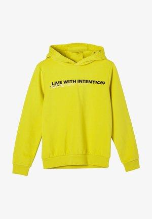Hoodie - light yellow