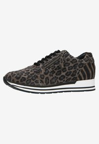 Manfield - MIT LEOPARDENMUSTER - Trainers - grey - 2