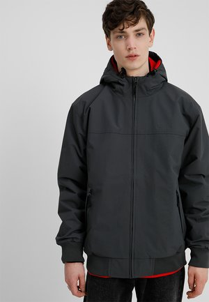 HOODED SAIL - Light jacket - blacksmith/black