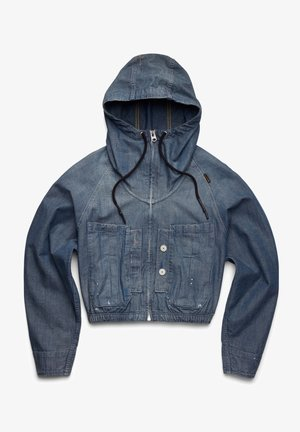 WINDBREAKER - Denim jacket - blue