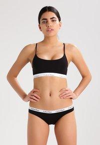 Calvin Klein Underwear - CAROUSEL 3 PACK  - Slip - schwarz - 0